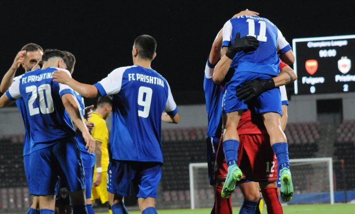 Prishtina mposht Folgoren, kalon në finale të fazës parakualifikuese të CL