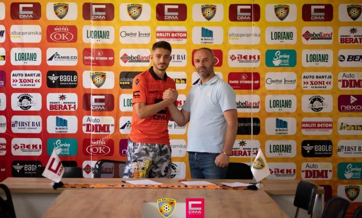 KF Ballkani zyrtarizon transferimin e Albion Rrahmanit