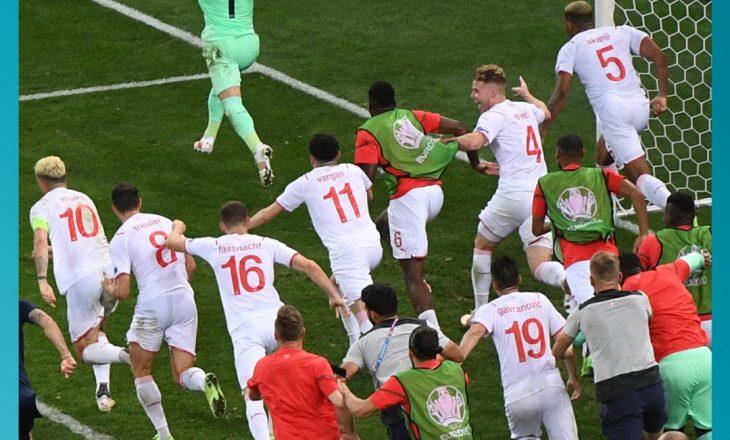 Zvicra arrin çerekfinalen për herë të parë në histori pas fitores ndaj Francës