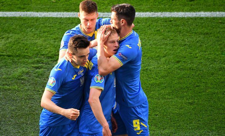 Ukraina arrinë fitore në sekondat e fundit të vazhdimeve kundër Suedisë