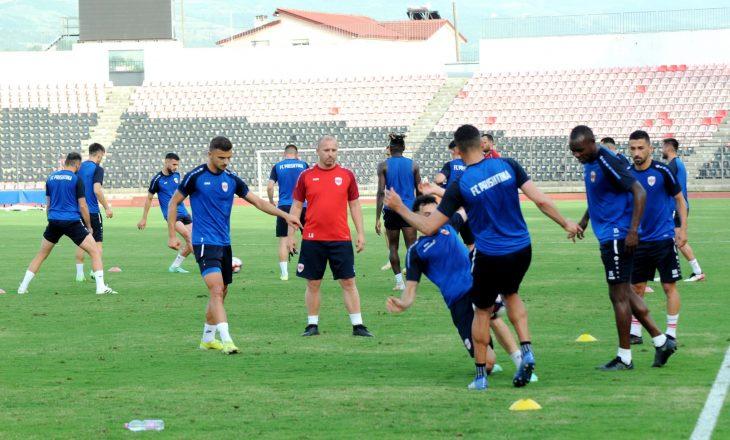 KF Prishtina – Inter Club d'Escalades: Formacionet zyrtare
