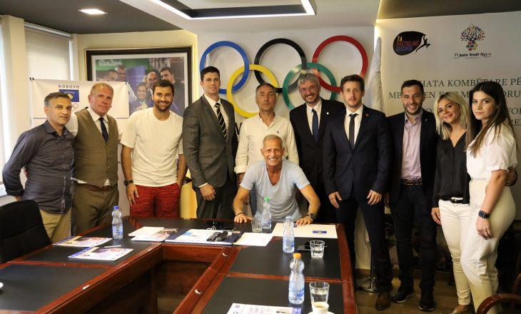 Presidenti Ismet Krasniqi, priti drejtuesit e FISU-s dhe EUSA-s, si dhe familjen Cana