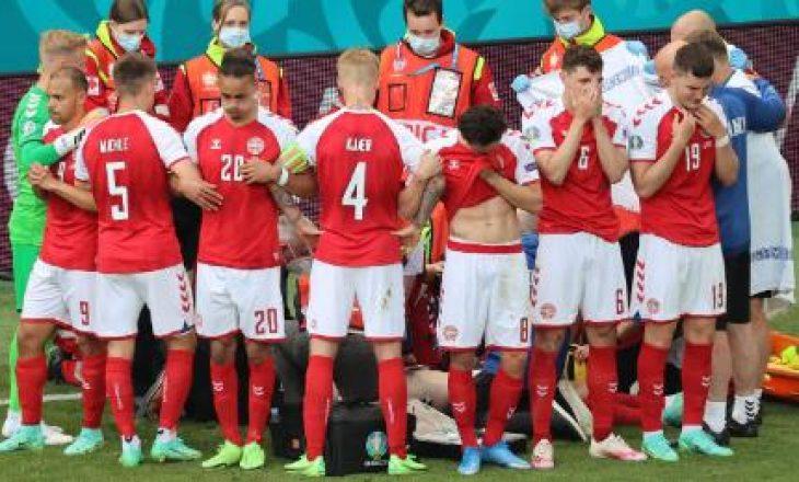 Federata e futbollit të Danimarkës lëshon njoftim zyrtar për gjendjen e Eriksen