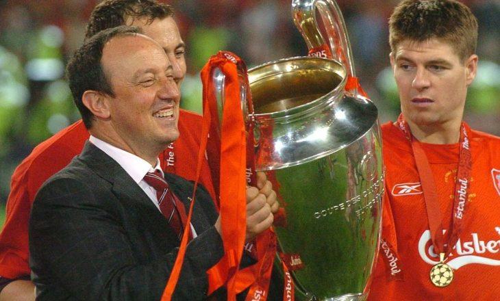 Rafa Benitez mund të transferohet te rivalët e Liverpoolit