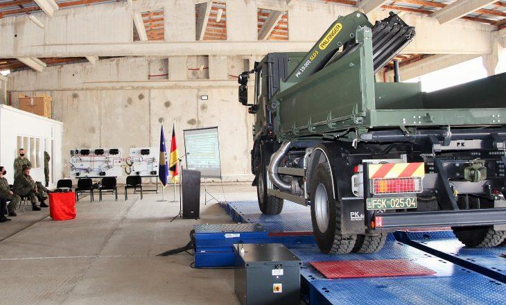 Gjermania dhuron donacion në vlerë prej 210 mijë euro për FSK-në