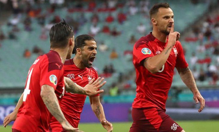 Zvicra siguron kalimin në fazën tjetër të EURO 2020