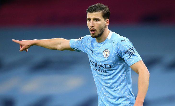Ruben Dias ështe emëruar lojtari i sezonit në Premier League