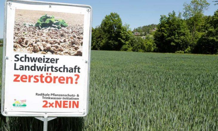 Zvicra do të mbajë referendum për ndalimin e pesticideve