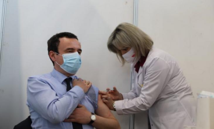 Imunizohet kryeministri