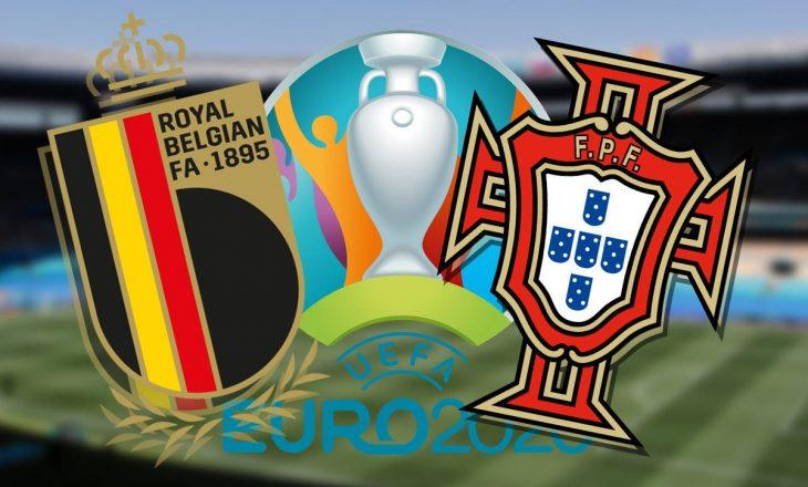 Belgjika – Portugalia: Formacionet zyrtare