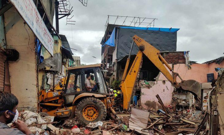 11 të vdekur, përfshirë tetë fëmijë, nga shembja e ndërtesës në Mumbai të Indisë