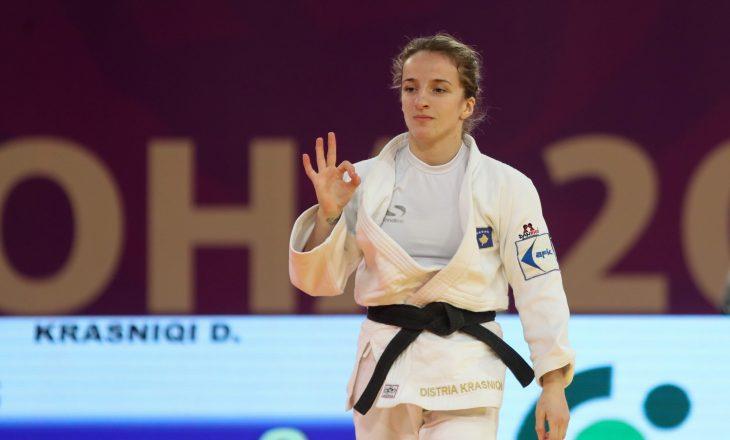 Mposhtet në gjysëmfinale Distria Krasniqi, lufton për medaljen e bronztë