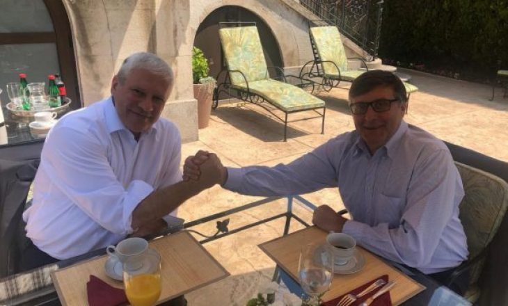 Palmer takon ish-presidentin serb Tadiq, flasin për Kosovën