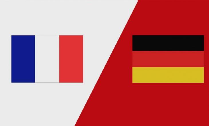 Franca – Gjermania: Formacionet zyrtare