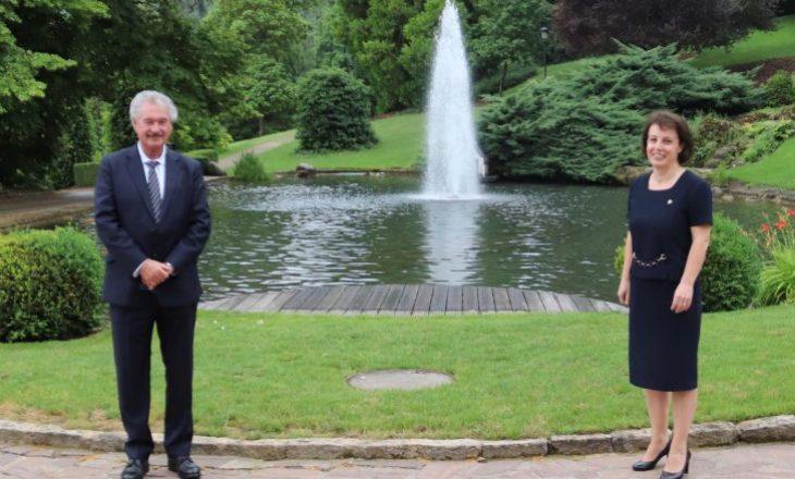 Gërvalla dhe ministri i Luksemburgut flasin për bashkëpunimin ndërmjet dy shteteve