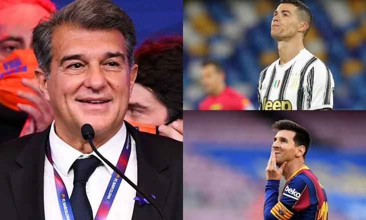 Transferimi i Ronaldos, ëndërr e Laportas