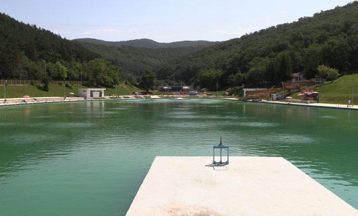 Sot hapet pishina e Gërmisë