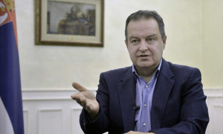 Daçiq: Kosova është një pjesë e patjetërsueshme e Serbisë, nuk pranojmë zgjidhje të imponuar