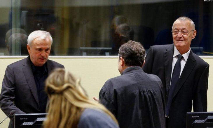 Haga sot shqipton dënimin për Stanishiqin dhe Simatoviqin