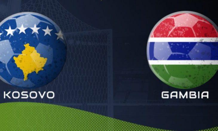Kosova sot përballet me Gambinë