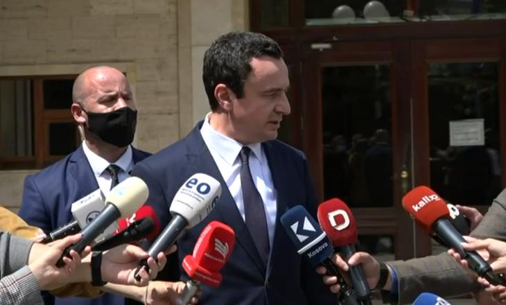 Kurti flet pas takimit me Osmanin për caktimin e datës së zgjedhjeve lokale