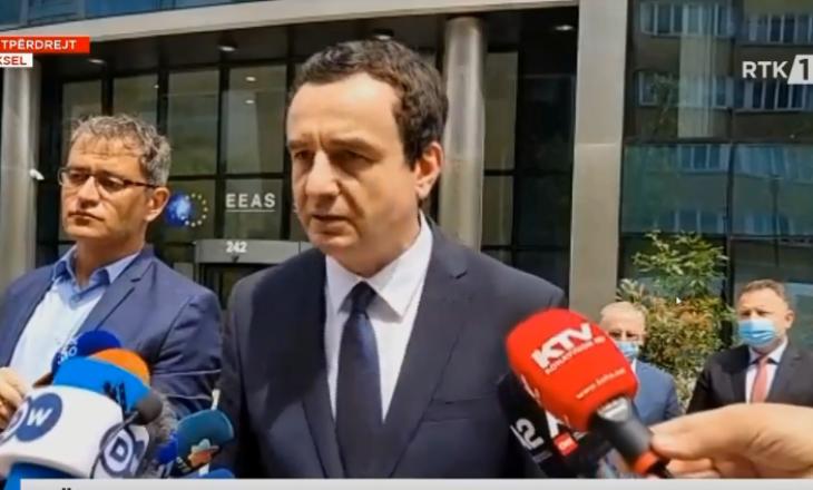 Kurti pas takimit tregon katër propozimet e tij për Vuçiqin në Bruksel, tri u refuzuan