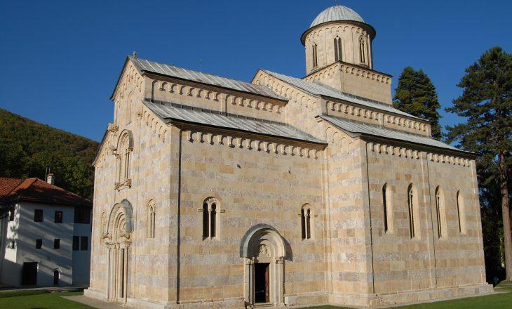 Manastiri i Deçanit akuzon Shpend Ahmetin për inkurajim të aksioneve në Kishën Ortodokse Serbe