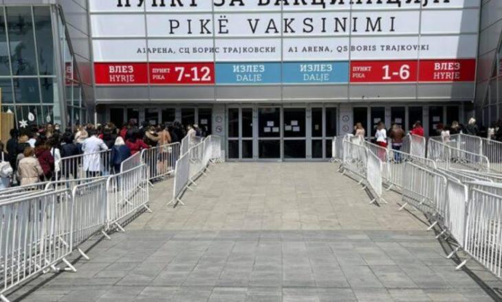 Maqedoni e Veriut, ngadalësohet ritmi i vaksinimit – mungojnë vaksinat