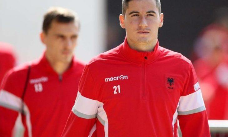 Kombëtarja shqiptare mbetet pa yllin e skuadrës para ndeshjes me Uellsin