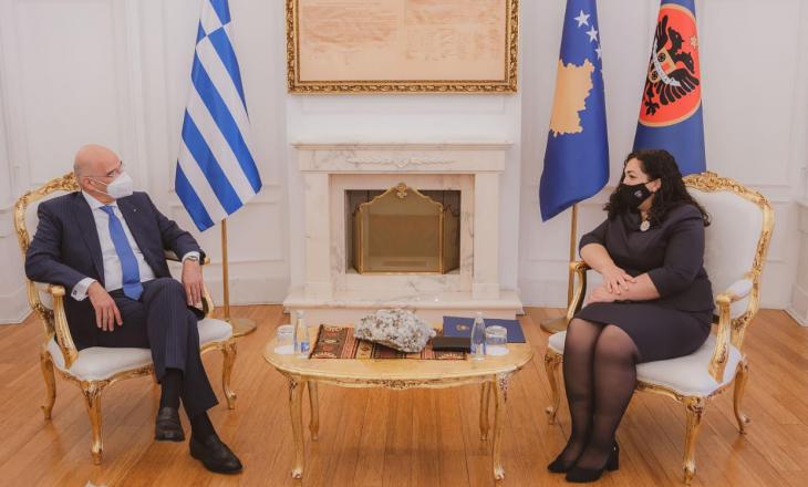 Bëhet e ditur se çfarë u diskutua në takimin e Osmanit me kryediplomatin grek