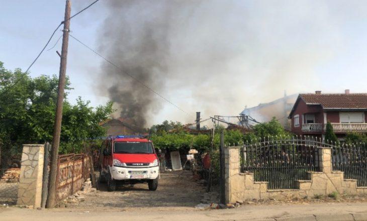 Policia jep detaje për djegien e shtëpive në Graçanicë