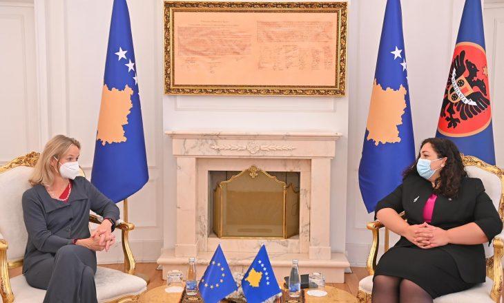 Osmani takohet me  Viola von Cramon, flasin për dialogun