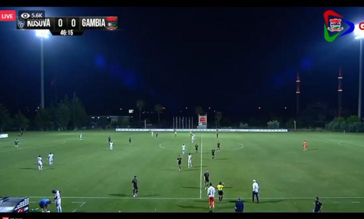 Përfundon pjesa e parë mes Kosovës dhe Gambisë
