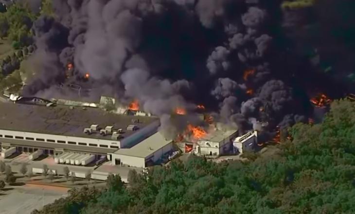 Shpërthim masiv në një fabrikë kimike në Illinois