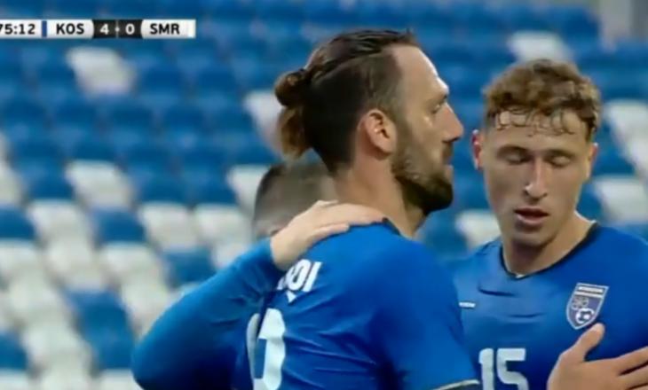 Vjen edhe goli i katërt i Kosovës përballë San Marinos