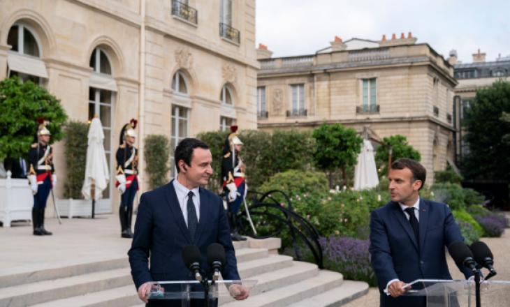 Përfundon takimi, çka diskutuan Kurti e Macron