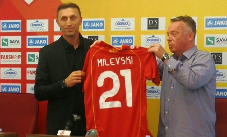 Maqedonia e Veriut bëhet me trajner të ri pas largimit të Angelovskit
