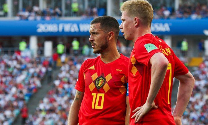 Belgjika me dy mungesa ndaj Italisë