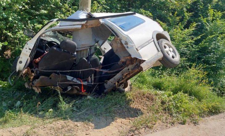 Vetë-aksident në fshatin Siqevë të Prishtinës, lëndohet rëndë ngasësi i automjetit