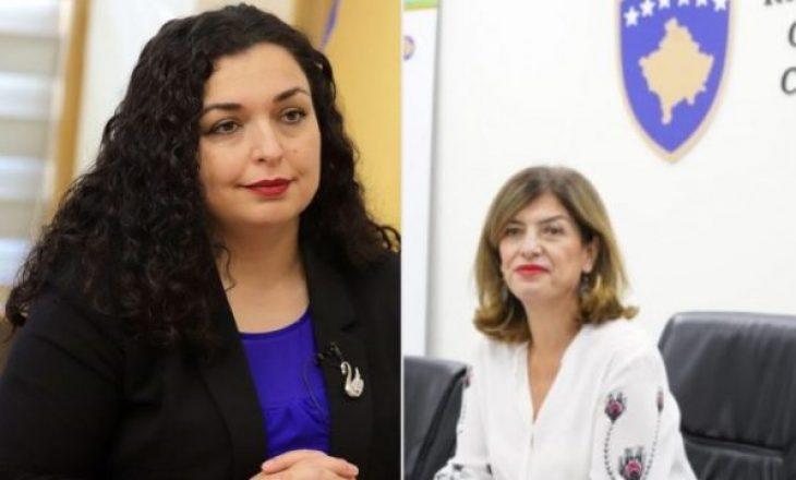 Reagon Zyra e Bashkimit Evropian në Kosovë pasi Vjosa Osmani shkarkoi Valdete Dakën