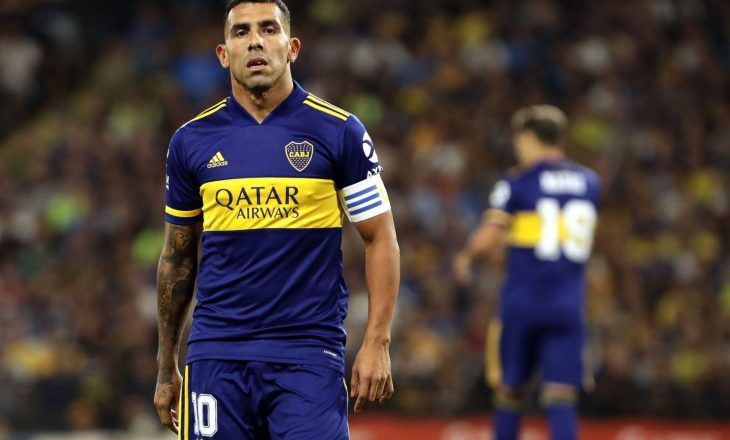 Carlos Tevez i jep fund karrierës si futbollist