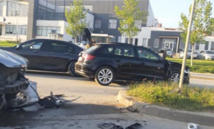 Lëndohet një person nga aksidenti në Prishtinë