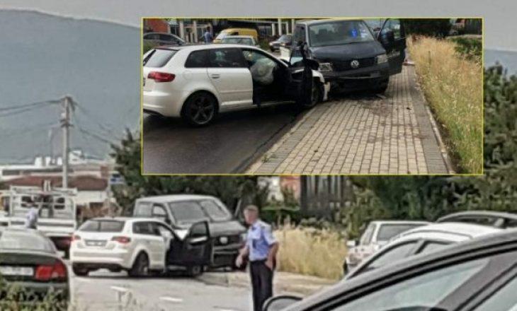 Gjashtë të lënduar në një aksident trafiku në rrugën Klinë-Istog