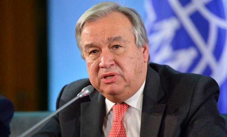 Antonio Guterres riemërohet Sekretar i Përgjithshëm i OKB-së