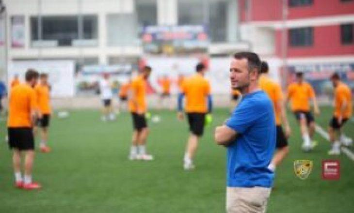KF Ballkani ndanë rrugët me drejtorin sportiv Avni Bytyqi dhe tre futbollistë tjerë