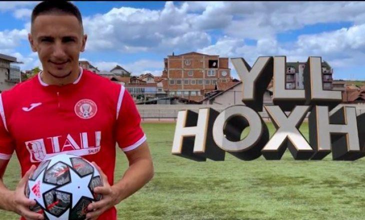 Yll Hoxha zyrtarizohet te Gjilani