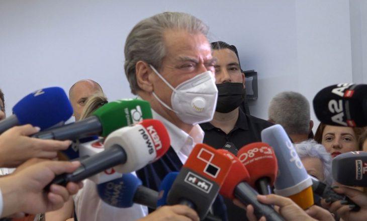 Rikthimi në krye të PD-së, Berisha: Jam konsistent në deklarata