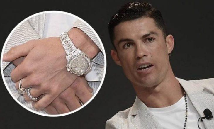 Cristiano Ronaldo është pronar i orës më të shtrenjtë në histori