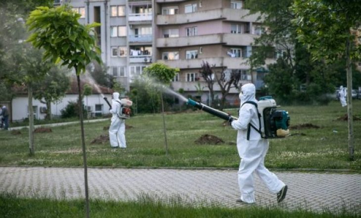 Të hënën nis faza e dytë e dezinsektimit në Prishtinë