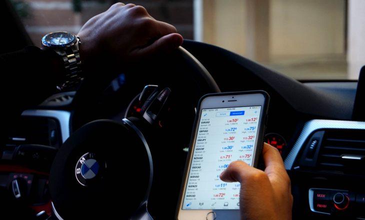 Javën e kaluar janë gjobitur 739 shoferë për përdorim të telefonit gjatë ngasjes
